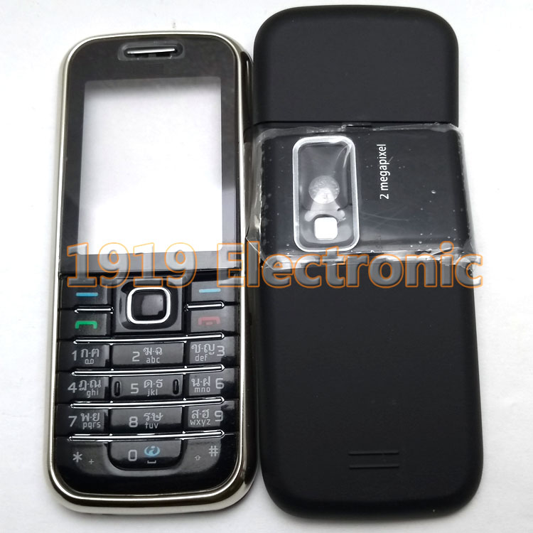 Case Tain 6233--Tool Nokia Mobile-Phone-Housing-Cover New Or English Russian-Keypad Full-Complete