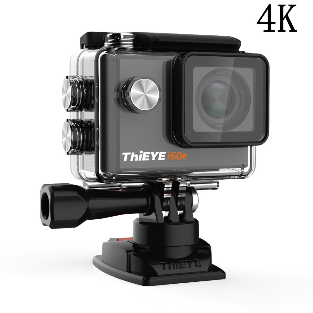 ThiEYE i60e 4K WIFI Zoom Action Camera Full HD 1080P/ 60fps 2.0 LCD 40M Waterproof 170 Degree Wide-Angle Mini Sports Camara Cam monster high monster high главные герои из серии большой кошмарный риф