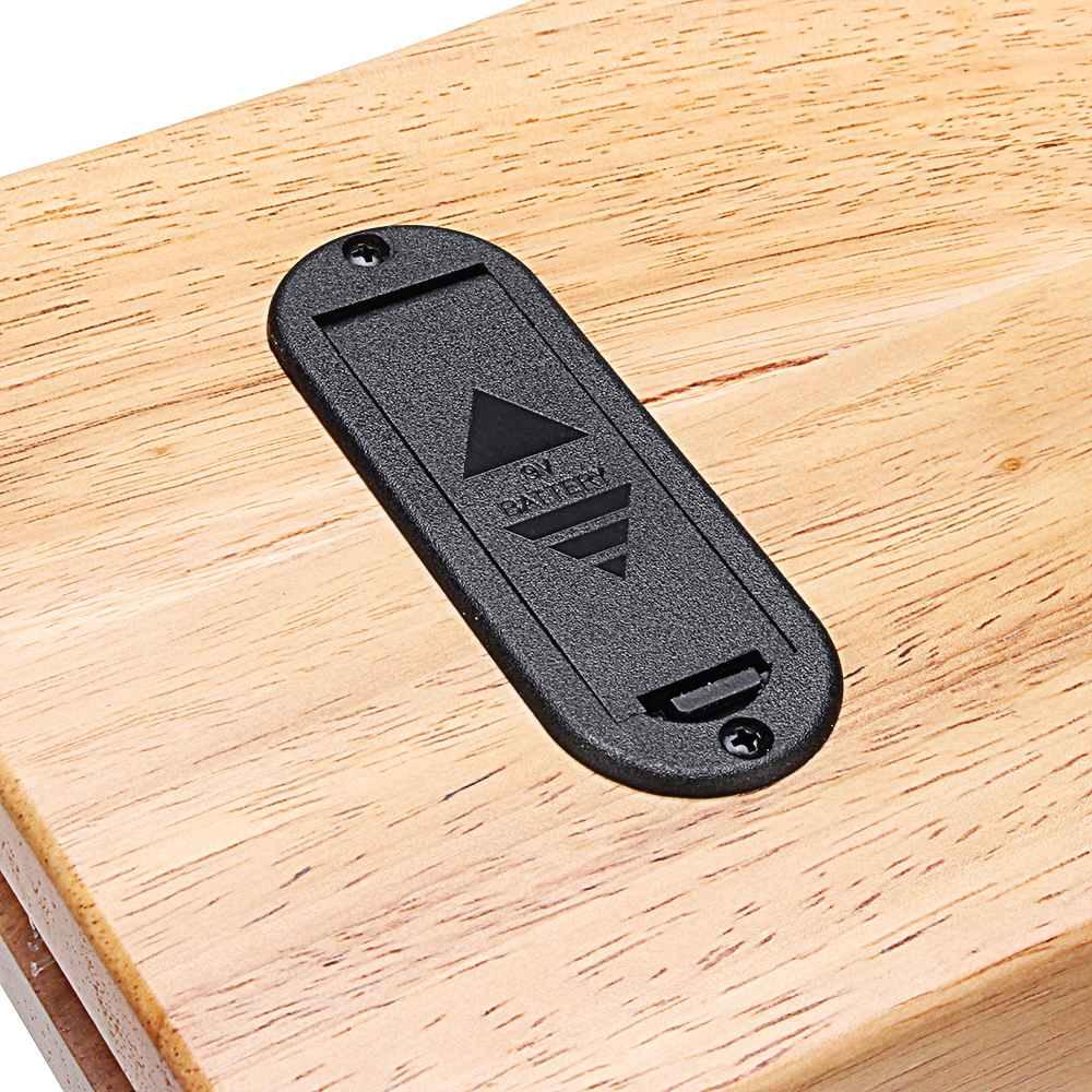 Lyre harp 10 металлических струн инструмент из красного дерева для начинающих - 5