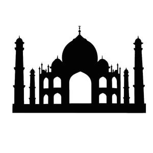 Image 3 - ملصق حائط إسلامي إسلامي كبير مضاد للماء من PVC DCTOP ملصقات جدارية لغرفة المعيشة ألوان مخصصة ملحقات ديكور منزلي