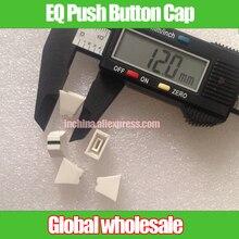 10 шт. 12*10*6,5 мм отверстие 4 мм эквалайзер Эквалайзер миксер Ручка регулятора уровня колпачок белый/прямой скольжения потенциометра кнопка