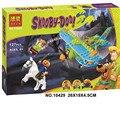 Бела 10429 Scooby Doo Мумия Музей Таинственный Самолет Строительный Блок Игрушки совместимые с Лепин дети подарок