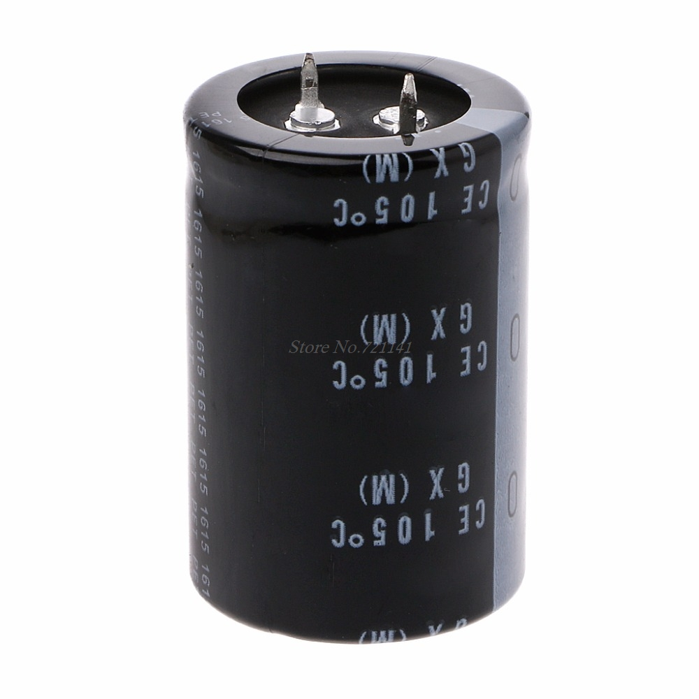 400V 470uF 30x45mm High Frequency Low Resistance GX Electrolytic Capacitor 105 Celsius Dropship