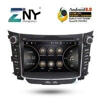7 HD Android 8.0 Car Stereo GPS For Hyundai I30 Elantra GT 2012+ Auto Radio FM +Optional DSP/Carplay/DAB+/64GB ROM/Parrot BT
