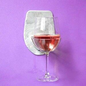 Image 5 - 1 قطعة حمام و دش حامل لاصق المحمولة العلبة ل البيرة النبيذ علب الزجاج واضح