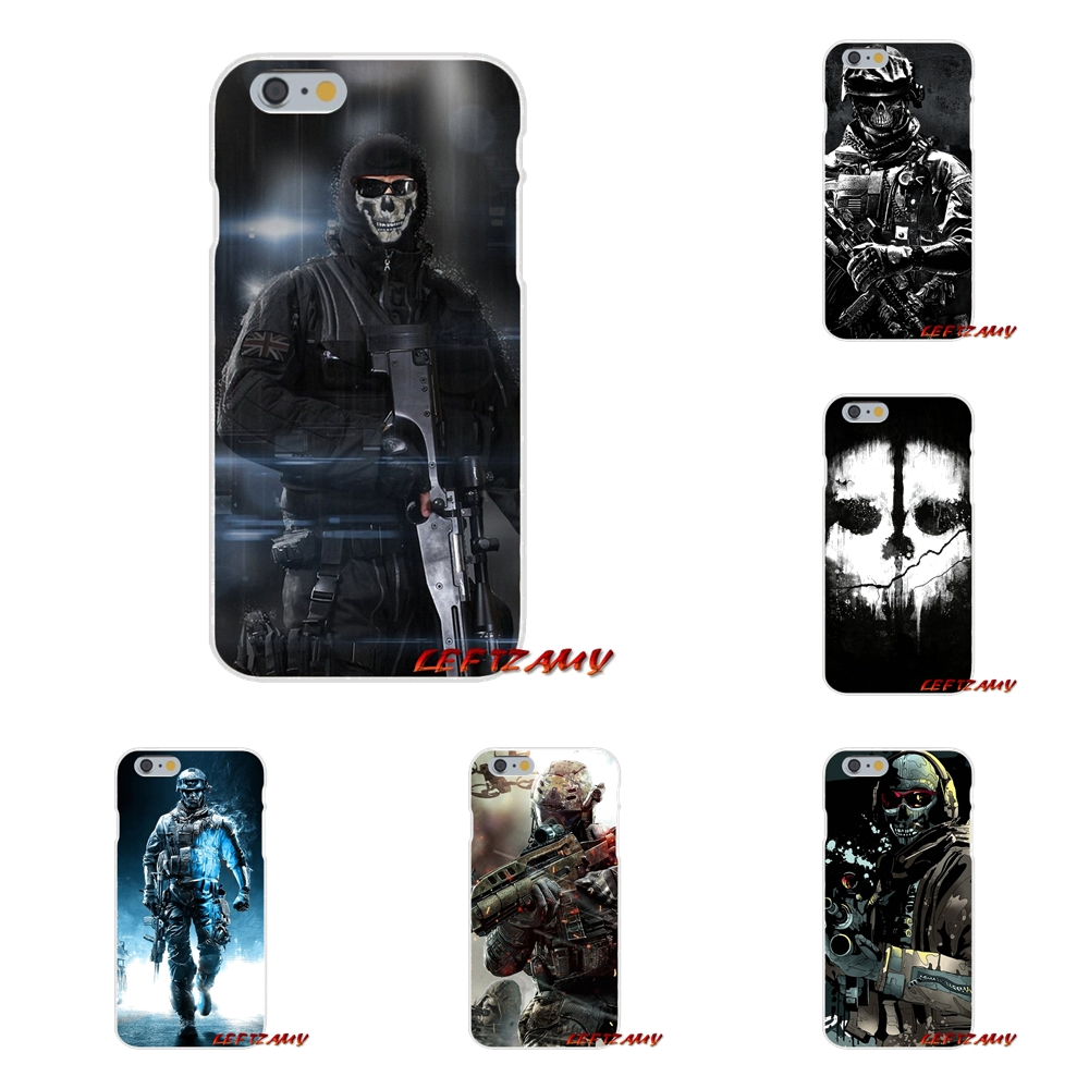 call of duty skull Slim Silicone phone Case For Samsung Galaxy S3 S4 S5 MINI S6 S7 edge S8 S9 Plus Note 2 3 4 5 8