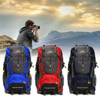 70L Men Women Waterproof Travel Backpack Camping Climbing Sports Bag Mountaineering Hiking Backpack Molle Sport Bags Rucksack