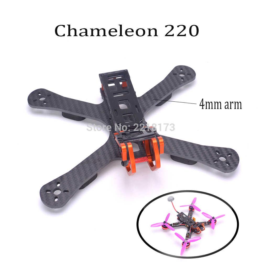 """Chameleon FPV Frame 5"""" 220mm FPV Freestyle Quad Unibody Frame FPV Racing Drone For PUDA Armattan Chameleon QAV-R 220"""