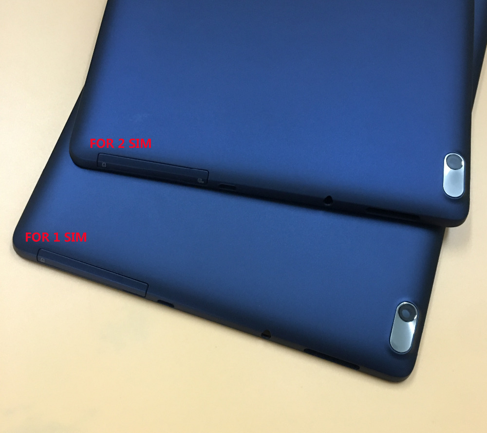 Dark Blue Battery Cover Back Cover Case Rear For Lenovo Tab A10-70 A7600 A7600-F A7600-H Repair Replacement With Tracking Number kefo case for lenovo idea tab a10 70 a7600 a7600 h a7600 f 10 1inch universal pu leather tablet case cover center film pen
