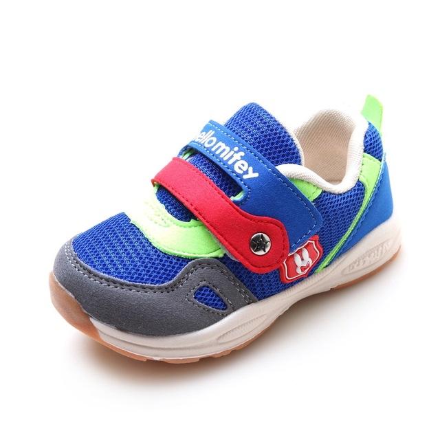 Nuevo 1 par length13.3 casual kids sneakers niños shoes + interior de 15.8 cm, muchacho de la manera/girlsuper calidad deportes shoes