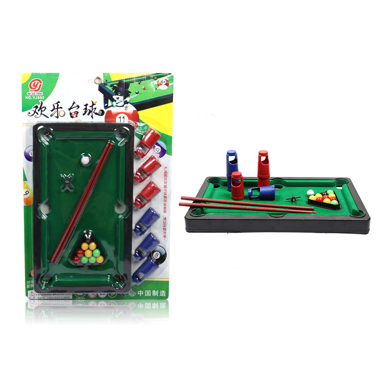 New Arrival Mini Desktop Pool Table Children's Billiard Table Parent child  interaction Games Kids Educational Toys Supplies-in Snooker & Billiard  Tables ...