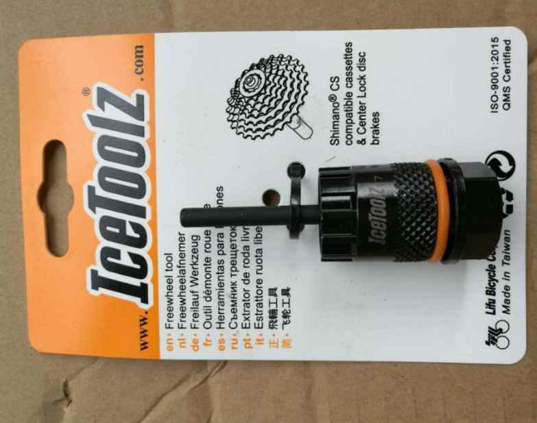 IceToolz 09C1 Cassette /& Center Lock Tool Disc Brakes Freewheel Tool fit Shimano