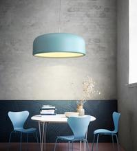 Colorful Aluminum Pendant lamp design Smithfield lighting dinning living room bedroom hotel bar
