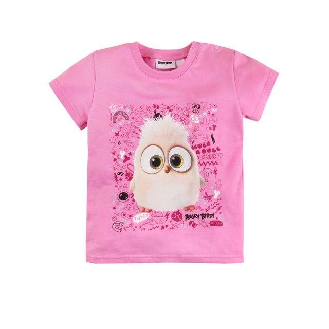 Футболка для девочки 'Angry Birds' BOSSA NOVA 261АБ-161