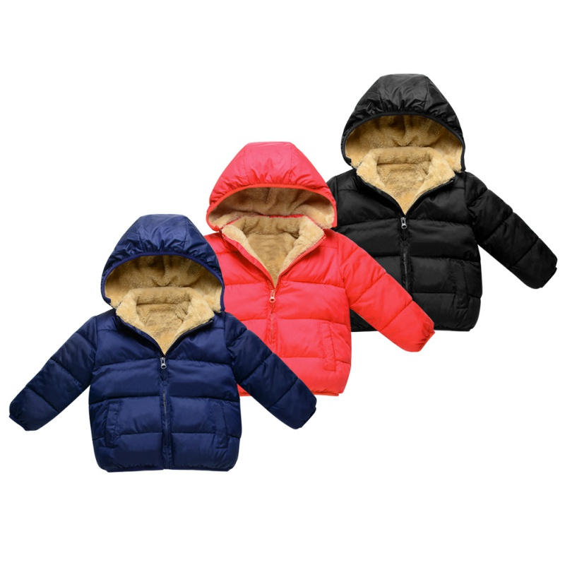 2017 Fashion Warm Winter Children Coat Baby Boys Girls Outerwear & Coats Fashion White Duck Down Jacket With Cap Coat for Kid M1