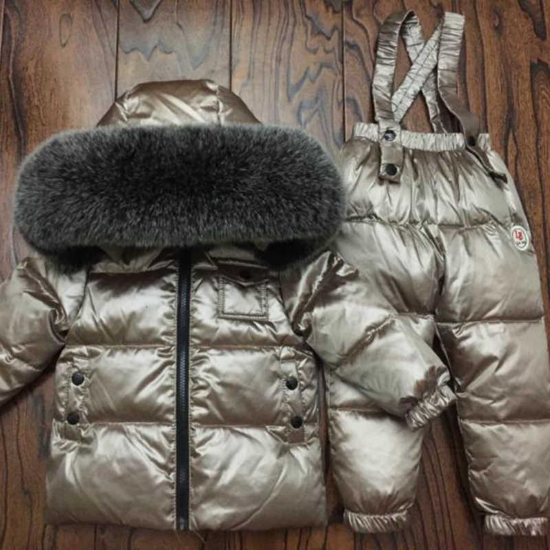 Комплекты детской одежды для русской зимы, комбинезон, зимние куртки +  комбинезон, 2 предмета 33d528e07f6