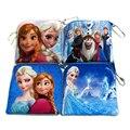 Cute Elsa Anna Girls Plush Coin Purse Children Zipper Small Change Purse Wallet Mini  Women Pouch Money Bag For Kids Gift