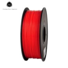 2016 RED 3D Printer Filament  ABS 1.75mm/3mm  Plastic Rubber Consumables Material 1Kg  ABS 3D Printer Filament For 3D Pen