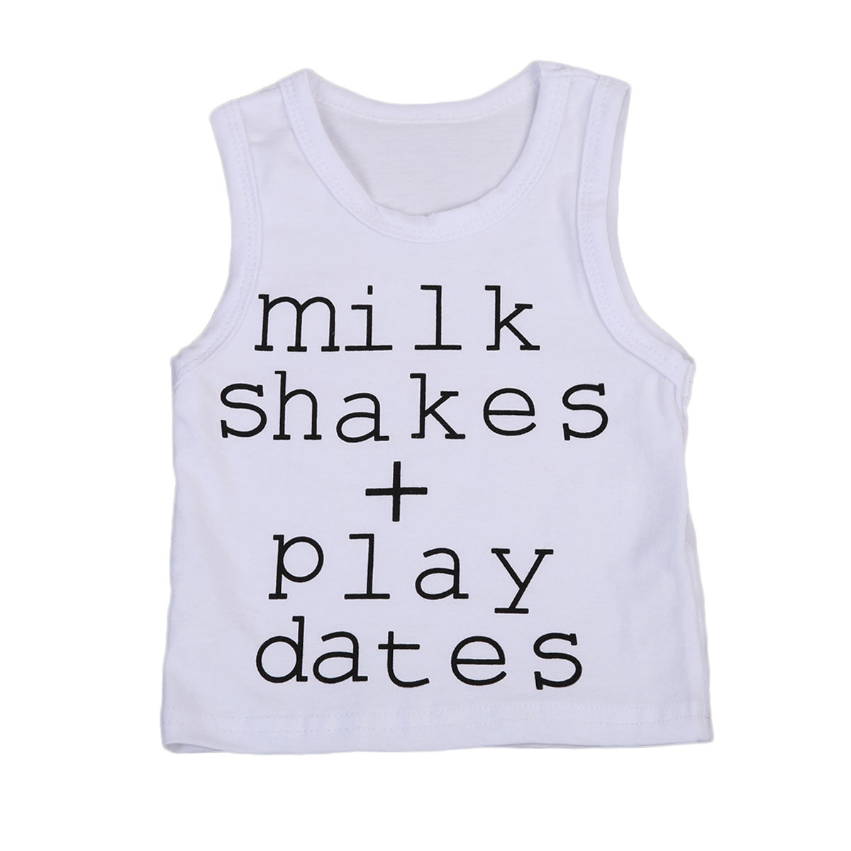 Baby Boys T Shirts Vest Cotton outfits Clothes 0-24M Newborn Infant Baby Boy Clothing Sleeveless Tee Top