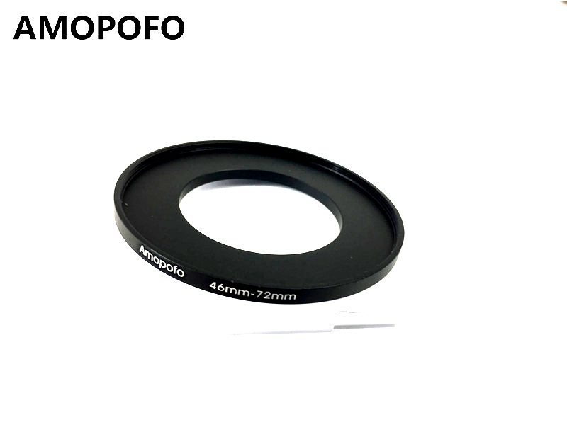 Universal 46-72mm /46mm to 72mm Step Up Ring Filter Adapter for UV,ND,CPL,Metal Step Up Ring Adapter