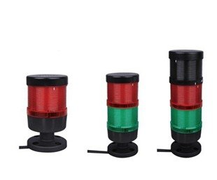 цены LTA-701-2 Two Layer Signal Tower Warning Light Red/Yellow With Round Bottom Machine Light IP65 Emergency Light