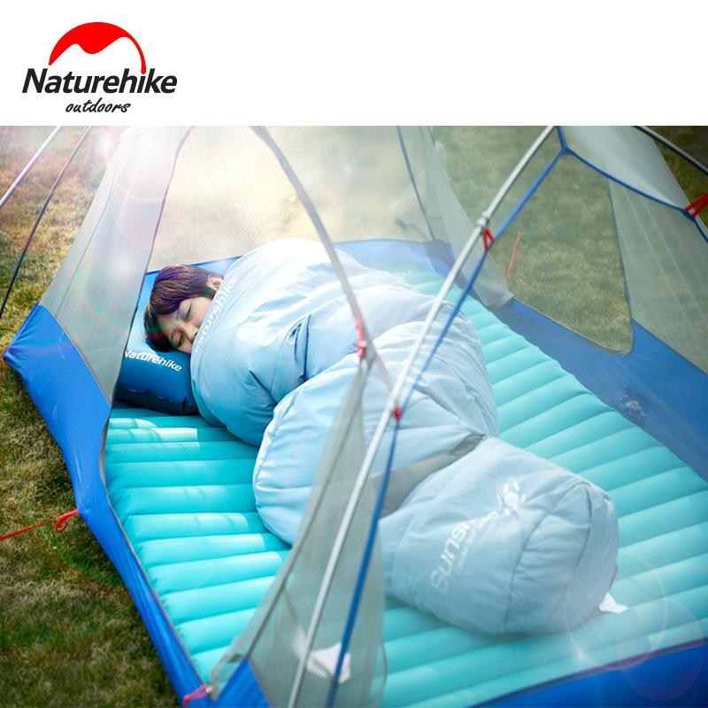 Naturehike-Camping-En-Plein-Air-Sac-De-Couchage-Gonflable-Ultra-Léger-Main-Type-de-Presse-Air (2)