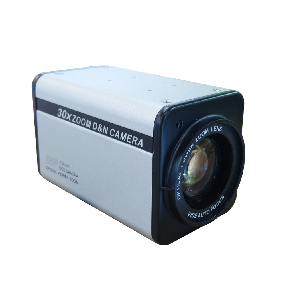 CCTV 700TVL Sony CCD Color Vari Focal BOX Security Camera 30X Optical Zoom novoxy 360x 1 3 700tvl sony ccd 30x optical 12x digital icr cctv block camera module with control board lens free shipping