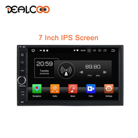 Dealcoo 2Din Car Radio 2 Din Car Radio GPS Android Radio Cassette Recorder 2 Din Android Autoradio Central Multimidia Android BT