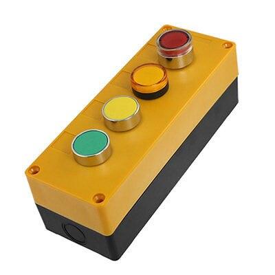 Ac 240 В 400 В зеленый кап красный свет станция переключатель ж желтый сигнальные лампы