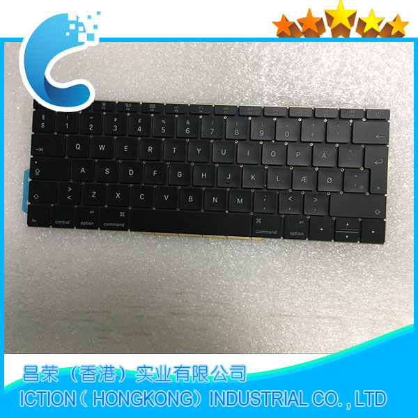 купить Original New A1708 Keyboard Denmark Danmark DK for Apple Macbook 13.3