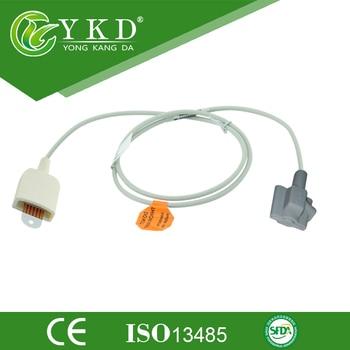 3pcs/Lot Free Shipping for LNOP 6Pin Pediatric silicone soft Spo2 Sensor/probe