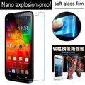 never broken Clear Soft Glass Nano Explosion proof Screen Protector Protective Lcd Film Guard For highscreen alpha R