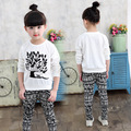 Cartoon Cotton Material Of Children's Wear 3 To 7 Y Boys And Girls Clothes Coat + Pants Kinderkleding Meisjes Set