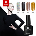 MSHARE high-end 10 ml of uv gel nail polish nail art gold silver glitter lasting Germany materials + free shipping