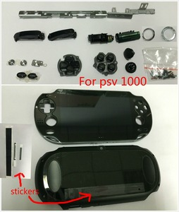 Image 2 - Pour psvita 1000 psv 100x écran lcd avec assemblage décran tactile + façade arrière wifi + LR sélectionner boutons jeu de vis/autocollants