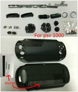 Image 2 - Psvita 1000 psv 100x lcd ディスプレイアセンブリ + バックカバーの前面プレート wifi + lr 選択ボタンネジセット/ステッカー