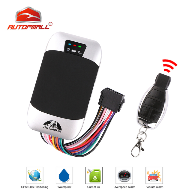 Car Tracker GPS Locator Waterproof Car GPS Tracker Coban TK303G Remote Control Cut Off Oil Fuel Engine Waterproof Free Web APP