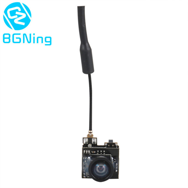 LST S2+ 5.8G 25MW 40CH 800TVL Transmitter FPV AIO Micro Camera FPV Camera with OSD Mini RC Racing Drone Quadcopter  Spare Parts