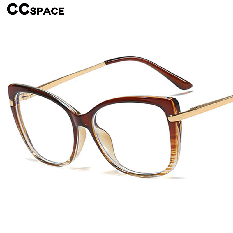 45847 TR90 Retro Cat Eye Glasses Frames Men Women Optical Fashion Computer Glasses