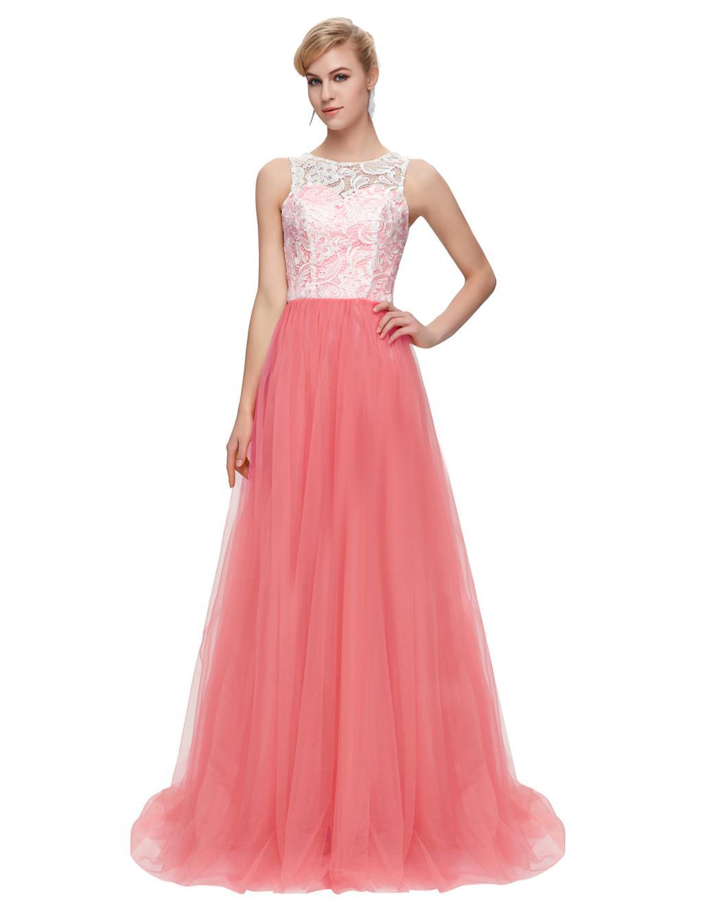 Amarillo prom dress grace karin menta verde blanco azul rojo lila ...
