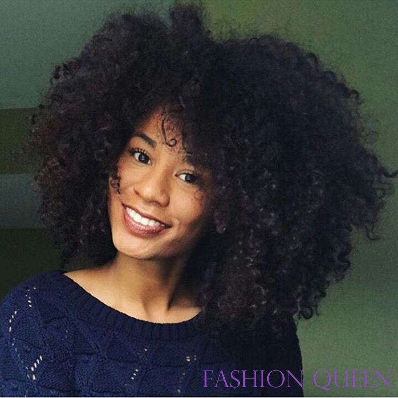 Fast delivery heat resistant fibre afro kinky curly synthetic lace front wig big hair style long fluffy wigs for black women эксмо королева мутантиков