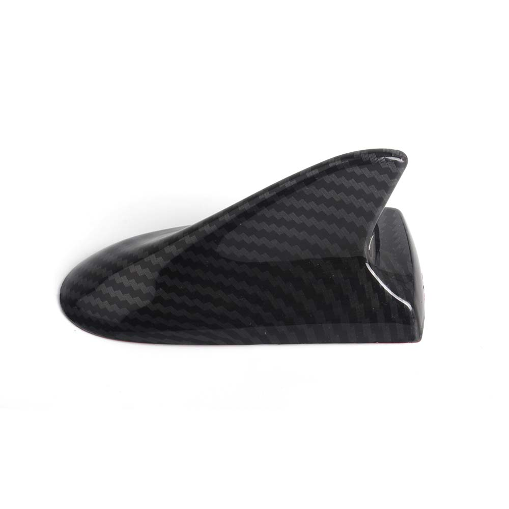 Image 4 - Universal Car Roof Antenna Cover Sticker Carbon Fiber Style Shark Fin Decorative Aerial Base Roof For BMW For Honda For Toyota-in Car Stickers from Automobiles & Motorcycles