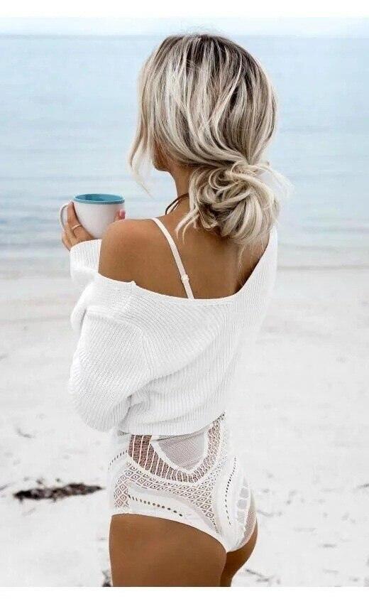 HTB1TH04OFXXXXamXVXXq6xXFXXXZ - Sweater Women Autumn Winter Flare Sleeve JKP084