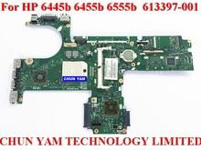 613397-001 для HP Compaq Probook 6445b 6455b 6555b материнская плата Ноутбука 6050A2356601-MB-A02 mainboard 100% Тестирование 90 Dayswarranty