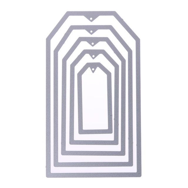 5pcs/lot Sewing Frames Metal Cutting Dies Stencils for Scrapbooking ...