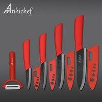 Kitchen Knives Ceramic Knife 3 4 5 6 Inch Zirconia Japanese Knife Black Blade Paring Fruit