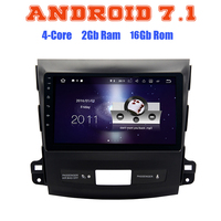 9 Inch Android 7 1 Quad Core Car Radio Gps For Mitsubishi Outlander 2017 2012 With