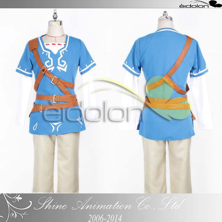 New Arrive The Legend of Zelda Zelda Link Cosplay Costume for Adults and kids/women/men