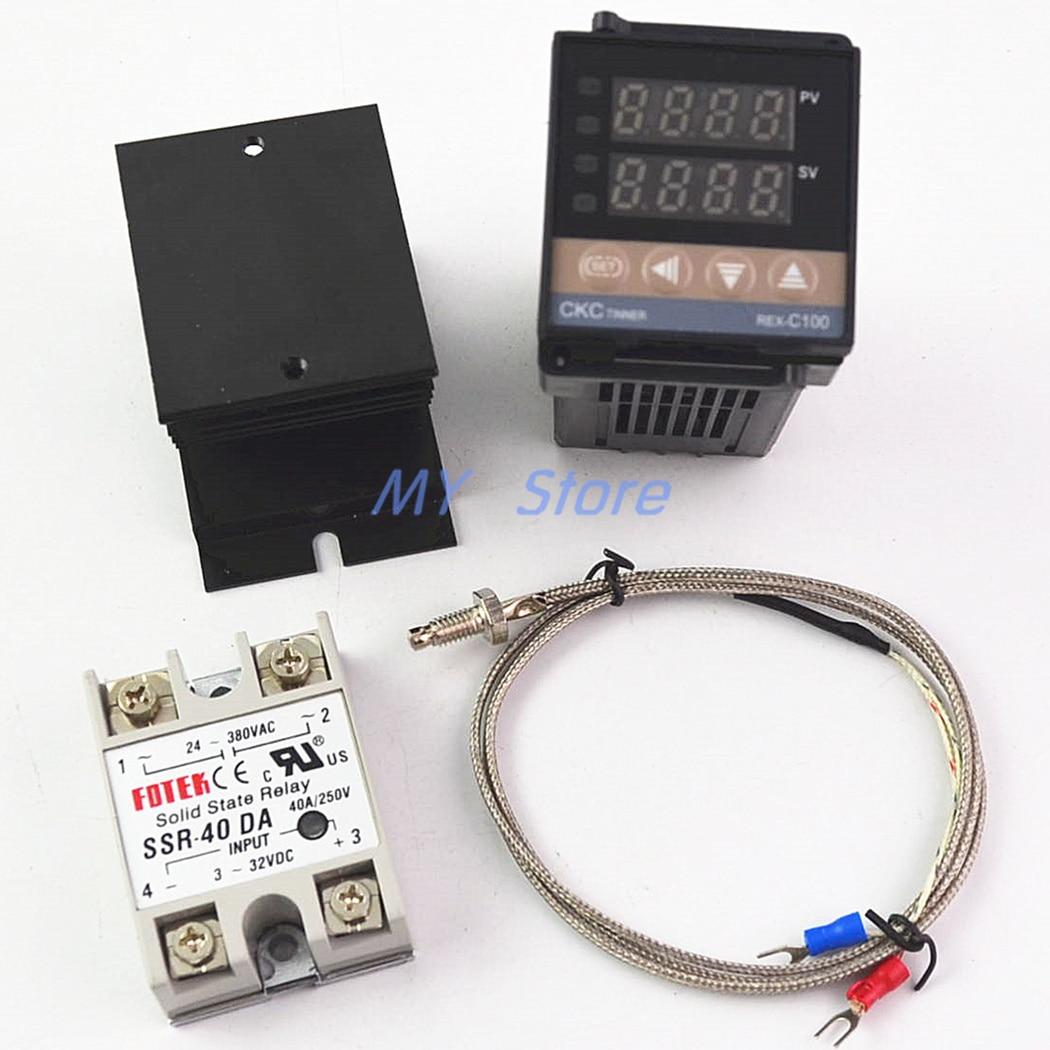 100-240VAC PID REX-C100 Temperature…