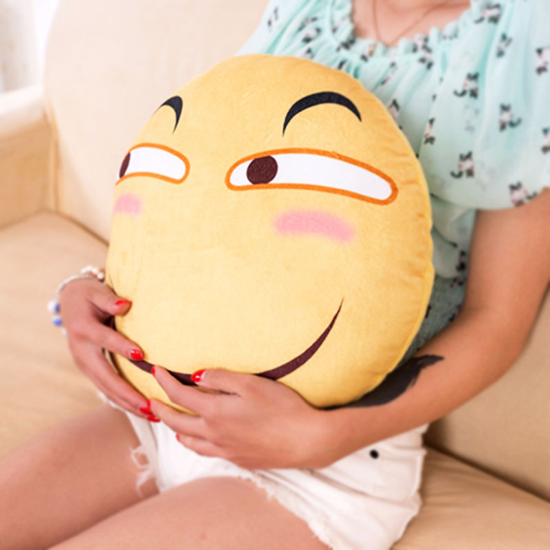 Y-Funny Face щурясь выражение подушки, подушки плюшевые игрушки Творческий Смешные зла для мужчин и женщин подарок на день рождения ...